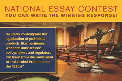 "alcohol policy essay The center for alcohol policy is sponsoring its ""ninth annual essay contest"" to all persons who are over the age of 18 as of december students, academics, practicing attorneys, policymakers."